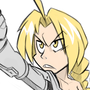 Edward Elric Pose by mikemichaelmic