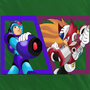 Megaman X4 - Player Select [FANART by - StarBomberX!]