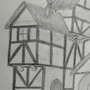Medieval Buildings - Pencil by UltimateDavid42