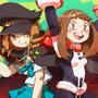 Mako and Uraraka