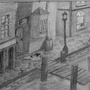 Old Quay - Pencil by UltimateDavid42