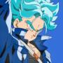 Future (Mirai) Trunks in SSBlue Form (DragonBall Z/Super)