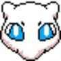 8-bit Mew Face by Nikolaos1994