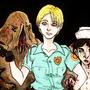 Cybil Bennett Silent Hill by Rather-Drawn