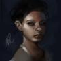 Quiet Sadness by RalyzArt