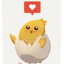 Cute Chick by AngshumanDhar