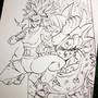 Kefla ssj2 VS UI Goku