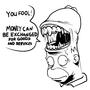 Homer Saturday Drawings by omacron6