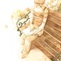The Garden / A Good Book by driftwoodwolf