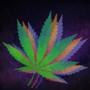 VAPORWAVE Weed leaf by BJplay55544