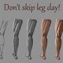 Leg day by Jafrie-Art