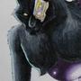 Cyborg Werewolf by JellicleJunkyard