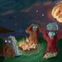 Primate Twilight by ponderous-plants