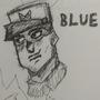 General Blue Sketch