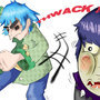 Punching Murdoc