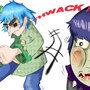 Punching Murdoc