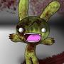 Tombie The Zombie Bunny by Darth-Spanky