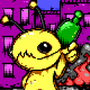 Alien Hominid ansi by enzob7