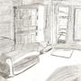 Living room Sketch by PielovinLlamas