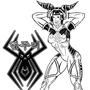 Juri Han cosplays D.va inked