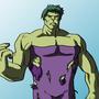Hulk / Degenerando superheroes by SquielM