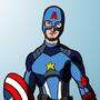 Captain America / Degenerando superheroes by SquielM