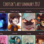Cootsik's 2017 Art Summary