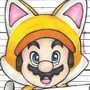 Cat Mario in the mugshot by Creative-Ashley