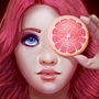 Grapefruit by artfullyorange