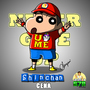ShinChan Cena | Never Give UP | WWE version by JacksonS7R