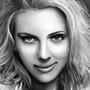 Scarlett Johansson Paint