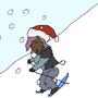Christmas Ski by NDSpencer