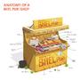 Anatomy of a Bhel puri shop