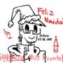 Feliz navidad 2017 se acerca una animación.