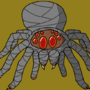 Steve the Spider (who is also a ninja) by SCphyter