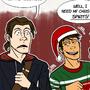 Offkey - Christmas Spirits by Artsy-Tarty
