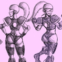 More LadySpace Armor Designs