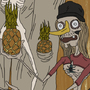 the Contraband Pineapple Spokes People by RistoKy