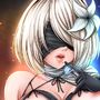 2B (Kaine's Outfit) - NieR: Automata - NSFW by Seviesphere