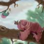 Fleshy Fruit Sloth