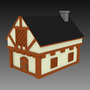 Medieval House (Low-Poly)