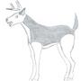 The Carnivorous Deer by clarakat1