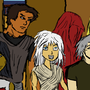 Crimson Beak Character Set 1 by Zathire