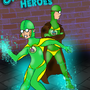 The Cheesecake Heroes by Jonimator