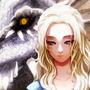 Daenerys by estherfanworld