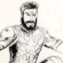 Captain America (Infinity War) Linework