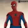 Spiderman Homecoming Suit digital painting by Memerfox