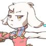 Lil goat warrior
