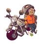 Biker - CDC Jan 2018 by AngshumanDhar