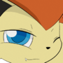 Flarey the Victini by DreamEclipseWolf